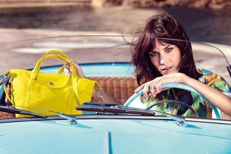 Sac Longchamp jaune