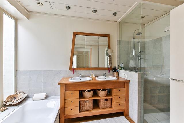 salle de douche moderne